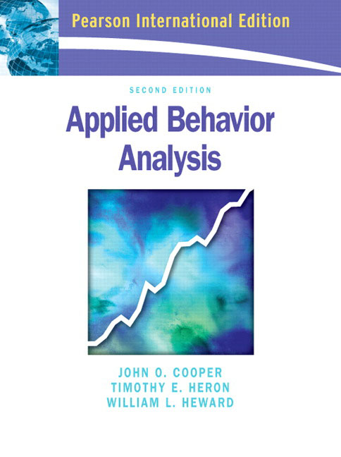 """applied behavior analysis cooper et al chapter 10 """"behavior therapy"""" that rely on direct observation of behavior and analysis of behavior-environment relations scientific support for applied behavior analysis  over the past 40 years a large body of literature has shown the successful use of aba-based."""