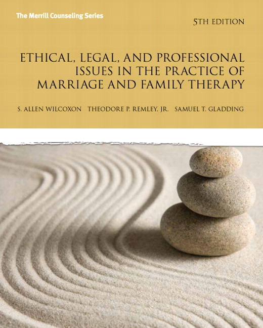 ethical dilemma in a marriage and family counselor