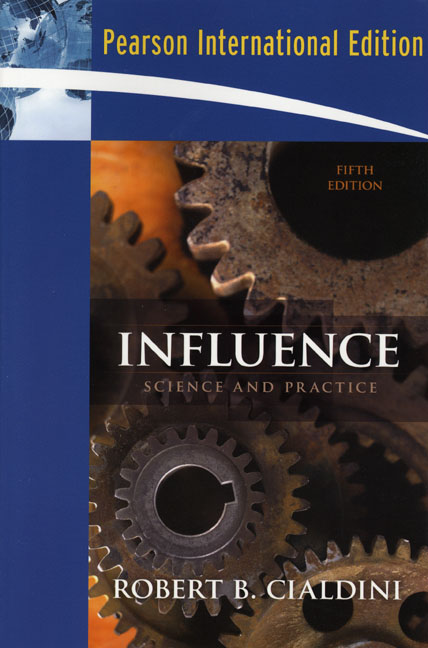 the four of the weapons of influence in influences by robert cialdini
