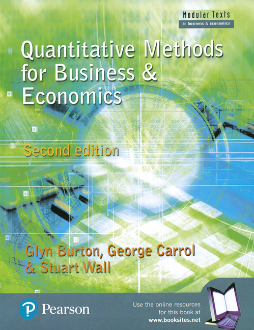 quantitative methods in business and management Quantitative methods for business, management & finance - louise swift, sally piff 2014 1137376554,9781137376558 book recommended reading read status add note.
