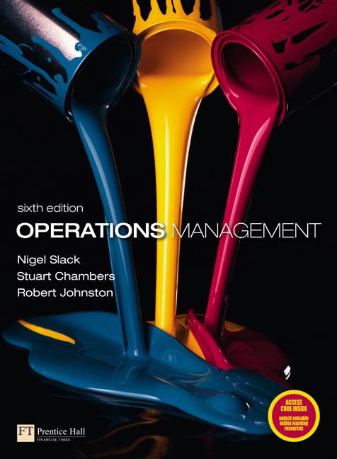cases in operation management nigel slack