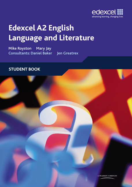 edexcel a2 english language and literature coursework English language (6,503) english literature (31,192 as and a level: english language browse by english language at a level is available as a standalone.