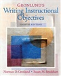 Gronlund's Writing Instructional Objectives - Norman Gronlund - 9780131755932