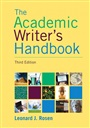 Academic Writer's Handbook - Leonard Rosen - 9780205717613 - English Composition - Freshman Composition