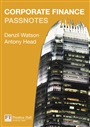 Corporate Finance Passnotes 1st edition