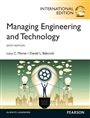 Managing Engineering and Technology, International Edition - Lucy C. Morse - 9780273793229 - Industrial Engineering - Engineering Economy and Management (152)