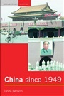 China since 1949 - Linda Benson - 9780582357228 - History - Asia & the Pacific Basin
