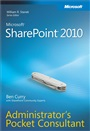 Microsoft SharePoint 2010 Administrator's Pocket Consultant