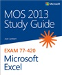 MOS 2013 Study Guide for Microsoft Excel