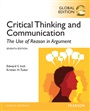 Critical Thinking and Communication: The Use of Reason in Argument, Global Edition - Edward S. Inch - 9781292058825 - Communication - Speech Comm (145)