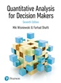 Quantitative Analysis for Decision Makers, 7th Edition (Formally known as Quantitative Methods for Decision Makers)