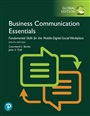Business Communication Essentials: Fundamental Skills for the Mobile-Digital-Social Workplace plus Pearson MyLab Business Com