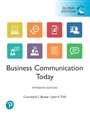 Business Communication Today, Global Edition