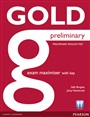 New Gold Preliminary Maximiser (with Key) - Sally Burgess - 9781447907367 - Exams Preparation - PET (99)