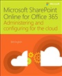Microsoft SharePoint Online for Office 365 - Bill English - 9781509300143 - Anwendung Office - Office (101)
